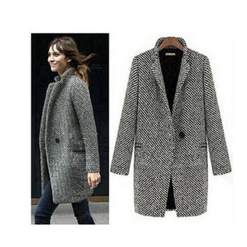 Winter Wool Thick Jacket