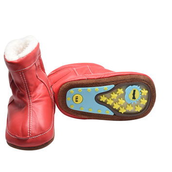 Red Robin- Rubber Sole Boots