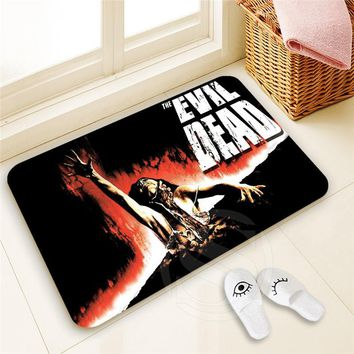 Autumn Fall welcome door mat doormat H-P886 Custom evil dead#6  Home Decor 100% Polyester Pattern  Floor Mat foot pad SQ00806#H0886 AT_76_7