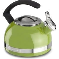KitchenAid KTEN20CBKL 2.0-Quart Kettle with C Handle and Trim Band - Sunkissed Lime