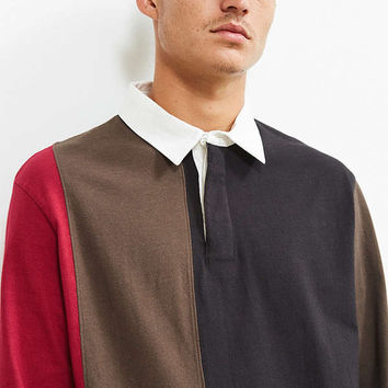 UO Archie Striped Rugby Shirt | Urban Outfitters