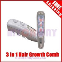 3in1 Laser, LED & Microcurrent Hair Growth Brush