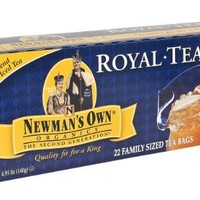 Newman's Own Organic Black Tea, 22-Count Family Size Bags (Pack of 6)