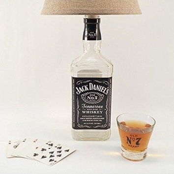 Jack Daniel's Whisky Bottle Lamp - 1.75 Liter