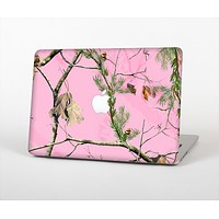 The Pink Real Camouflage Skin Set for the Apple MacBook Air 13""