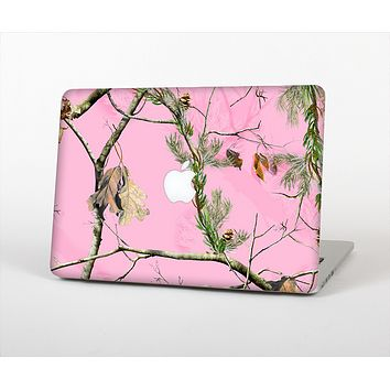 "The Pink Real Camouflage Skin Set for the Apple MacBook Pro 13"" with Retina Display"
