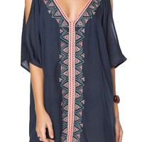 O'Neill Cosa Embroidered Cover-Up Dress | Nordstrom