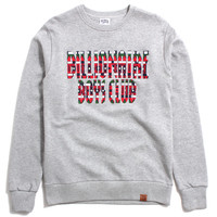 Beads Crewneck Sweatshirt Heather Grey