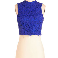 Boho Short Length Sleeveless Cropped Worth a Thousand Flirts Top