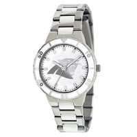 Carolina Panthers NFL Ladies Pro Pearl Series Watch
