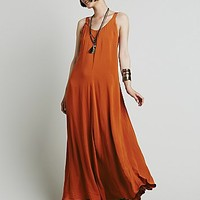Free People Womens Naya Maxi Dress