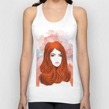 Emotion Girls Unisex Tank Top by dhiazkaosy