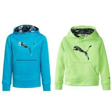 PUMA KIDS Boy's Big Cat Hooded Sweatshirt 91162159F $40 NWT