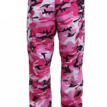 Rothco Color Pink Camo Tactical BDU Pants