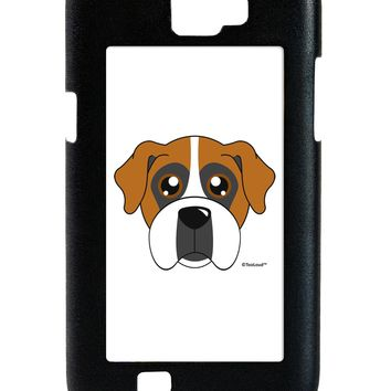 Cute Boxer Dog Galaxy Note 2 Case  by TooLoud