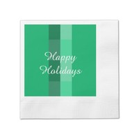 Holiday Green Paper Napkins by Janz