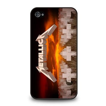 METALLICA MASTER OF PUPPETS iPhone 4 / 4S Case Cover