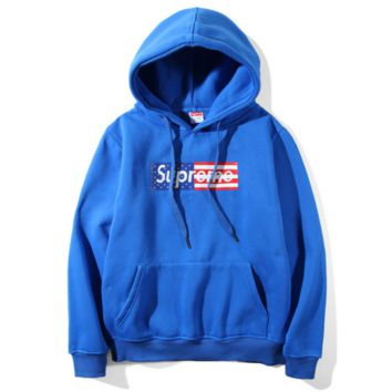 """SUPREME"" Fashion Casual Letter Print Long Sleeve Hoodie Sweater"
