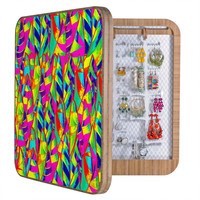 Renie Britenbucher Abstract Sailboats Neon BlingBox