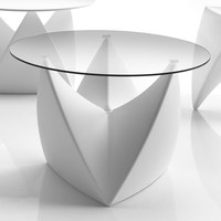 Round Poleasy® coffee table MR. LEM Collection by Myyour Italian Different Concept | design MoreDesign
