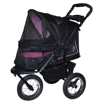 NV No-Zip Pet Stroller, Rose
