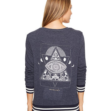 Spiritual Gangster Lunar Eye Savasana V-Neck