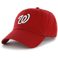 '47 BRAND Washington Nationals Clean Up Adjustable Hat