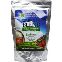 Sunwarrior - Warrior Blend, RAW Plant Based Protein, Natural, 2.2 lbs