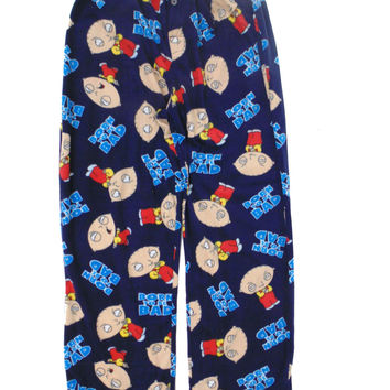 Stewie Family Guy-Born To Be Bad- Lounge Pant Navy P