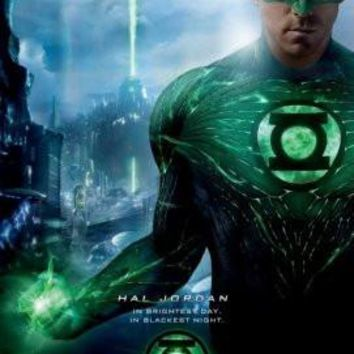 Green Lantern poster Metal Sign Wall Art 8in x 12in