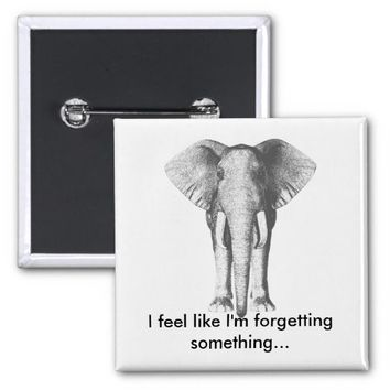 Elephant--Forgetting Something Pins