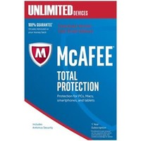 McAfee Total PROTECT 1 User Unlimited Devices 1 Year - D/LOAD INSTANT DELIVERY!! | eBay