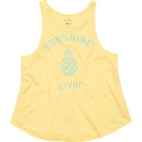 Billabong Girls - Sunshine Livin Tank | Pineapple