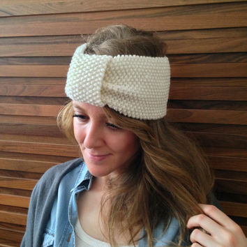 Crochet Headband Winter Ear Warmer Adult Headband Woman Chunky Headband Womens Headband Turban Headband Christmas Headband Knit Ear Warmer