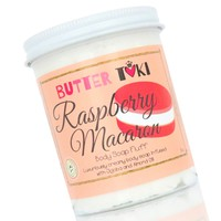 RASPBERRY MACARON Whipped Body Soap Fluff - Clearance