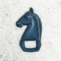 Cast Iron Bottle Opener Stallion