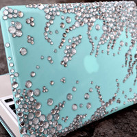 "15"" inch MACBOOK PRO Color Splash Shell in TIFFANY"