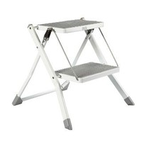 Slim Folding Step Stool | The Container Store