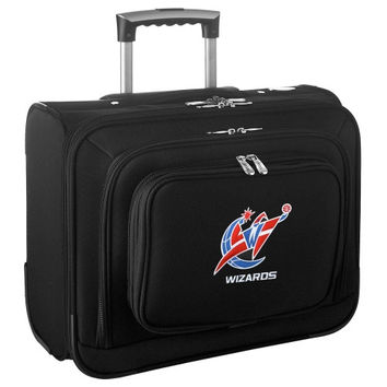 Washington Wizards Carry-On Rolling Laptop Bag - Black - http://www.shareasale.com/m-pr.cfm?merchantID=7124&userID=1042934&productID=540321327 / Washington Wizards