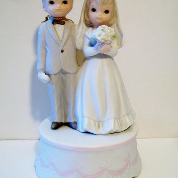 Lenox Wedding Bride Groom Music Box The Christopher Collection The Lord Bless You And Keep You