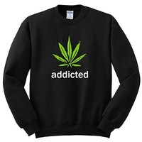 Addicted To Mary Jane Crewneck Sweatshirt