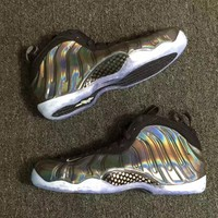 [ Free  Shipping ]Nike Air Foamposite One Hologram 314996-900  Basketball  Sneaker