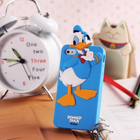 SALE30-70%OFF: Very Cute Donald 3D iPhone 4 and iPhone 5 soft protective cases