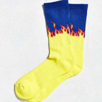 Flames Sport Sock - Urban Outfitters
