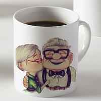 Romantic Carl and Ellie up Movie Mug Two Sides