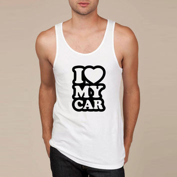 I love my cars Tank Top