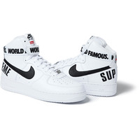 Supreme: Nike®/Supreme Air Force 1 Hi - Red