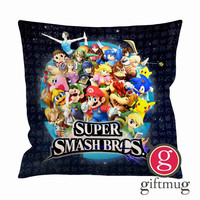 Super Smash Bros Logo Cushion Case / Pillow Case