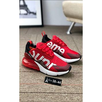 Nike Air X Supreme Stylish Women Men Leisure Sport Running Shoe Sneakers Red I-AA-SDDSL-KHZHXMKH