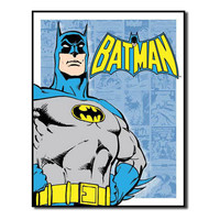 Batman Panels Retro Vintage Tin Sign